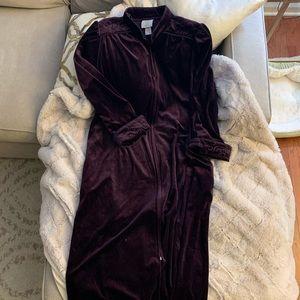 Luxurious Velvet Floor Length Robe